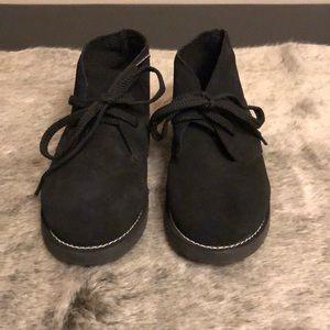 Crewcuts kids Calvert boot suede upper rubber sole
